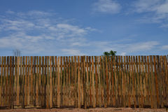 Fence in the sky, Royalty Free Stock Photos