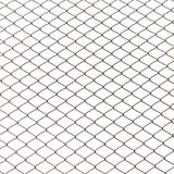Fence from steel mesh Stock Photography