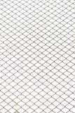 Fence from steel mesh Royalty Free Stock Image