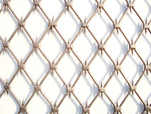 Fence. Texture. Decorative   metallic fence. texture industrial construction Royalty Free Stock Photography