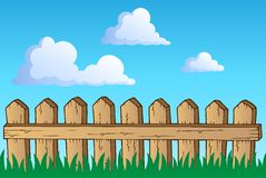 Fence theme image 1 Royalty Free Stock Photography