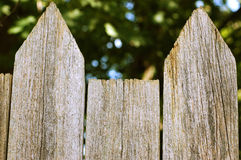 Fence top Royalty Free Stock Photography