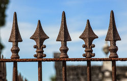 Fence toppers Stock Photo