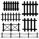 Fence vector illustration Royalty Free Stock Images