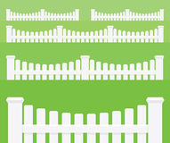 Fence. Vector objects Royalty Free Stock Photo