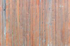 Fence vertical bars. Background of thin wooden boards. Blank background with texture royalty free stock photography