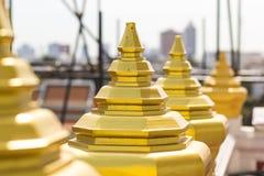 Fence at Wat-Ratchanadda Royalty Free Stock Images