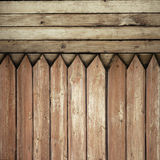 Fence weathered Stock Image