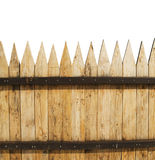 Fence on white Stock Images
