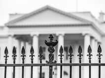 The Fence of the White House Stock Image