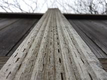 Fence on a winter day  Royalty Free Stock Photo