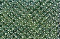 Fence wire net background Stock Photos