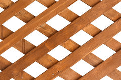 Fence wood. Brown woods is constructed together for fence Royalty Free Stock Photo