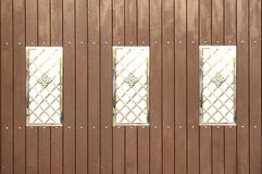 Fence wood contemporary style. Fence wood contemporary isolated style Royalty Free Stock Images