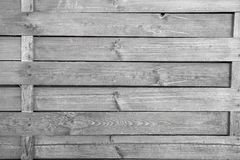 Fence of wood outdoors on brown wooden background. Surrounding, defense, protection, barrier concept stock images