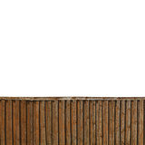 Fence from wooden boards close up Stock Image