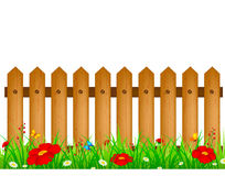 Fence stock illustration