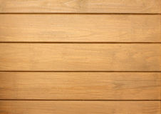 Fence from wooden horizontal planks as background closeup Stock Image