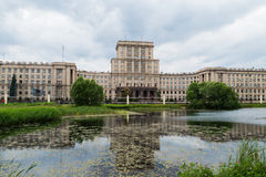 FenceBauman Moscow State Technical University, river Royalty Free Stock Image