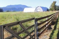 Fenced Farm Land Stock Photos