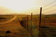Fenced In Royalty Free Stock Photo
