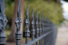 Fenced Focus Royalty Free Stock Images