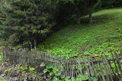 FENCED LAND Stock Photography