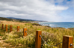 The Fenced Ocean Stock Images