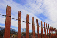 Fenced up Royalty Free Stock Photos