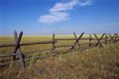 fenceline Obrazy Stock
