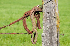 Fencepost Stock Photography