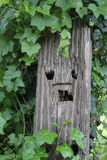 A fencepost  Stock Photo