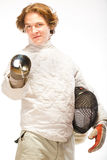 Fencer Stock Photography