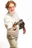 fencer стоковая фотография