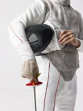 fencer Imagem de Stock Royalty Free