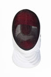 Fencers mask on a white background Stock Images