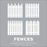 fences Obraz Royalty Free