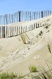 Fences on the beach Stock Photos