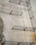 Fences on Concrete Stock Image