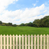 Fences garden Royalty Free Stock Images