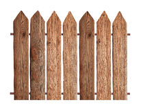 Fences isolated on white Royalty Free Stock Images