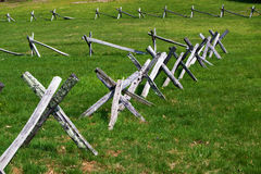 Fences on the  Royalty Free Stock Photo
