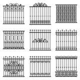 Fences set Stock Image