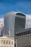 20 Fenchurch-de bouw van de Straatwalkie-talkie - Londen, het UK Royalty-vrije Stock Foto's