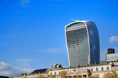 20 Fenchurch-de bouw van de Straatwalkie-talkie - Londen, het UK Royalty-vrije Stock Afbeelding