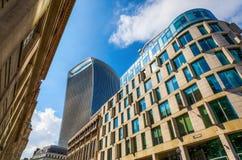 Fenchurch för skyskrapa 20 gata i London, UK Royaltyfria Foton