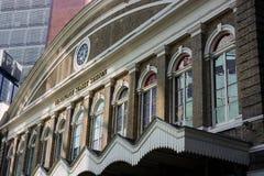 Fenchurch stacji kolejowej Uliczna pierzeja Londyn zdjęcie stock