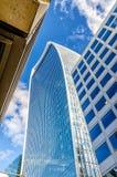 20 Fenchurch Straße, alias Funksprechgerät-Turm, London Stockbild