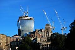20 Fenchurch Straßen-Funksprechgerät-Turm Stockfotos