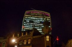 20 Fenchurch Straßen-Funksprechgerätgebäude - London, Großbritannien Lizenzfreies Stockbild